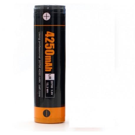 Acebeam ARC20700H-425A dimensioni della batteria 20700 4250mAh
