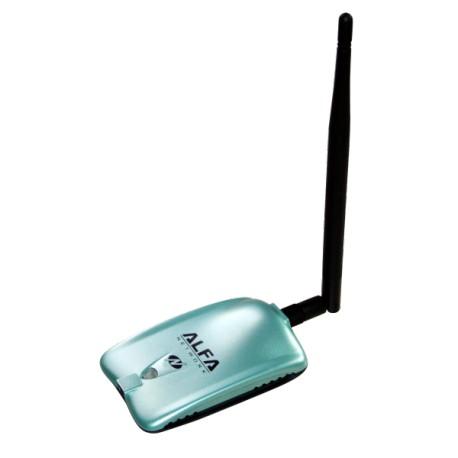 Adaptador WIFI por USB Alfa AWUS036NH 38dbm 6W cchip RT3070