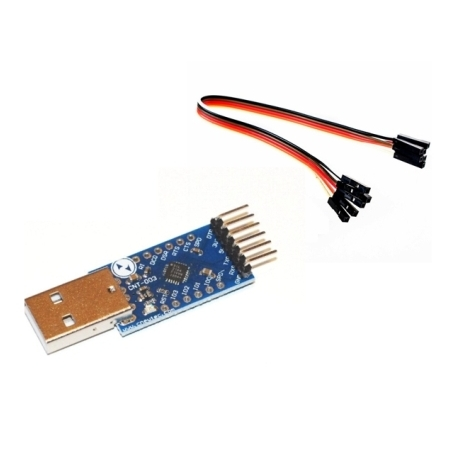 CP2104 USB a RS232 seriale UART TTL Cavo di porta COM 3.3 V 5V