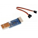 CP2104 USB-seriell RS232 UART TTL-Kabel COM-port 3.3 V 5V cp210x