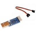 CP2104 USB vers série RS232 UART TTL Câble de port COM 3.3 V 5V cp210x