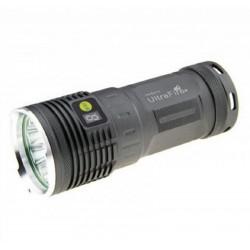 Lanterna de LED muito potente Ultrafire XM-L2 U2 6300lm kit recarregável
