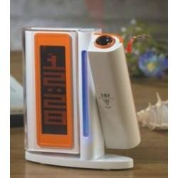Klatschen Funkuhr mit zeitprojektion und digital-Uhr-laser-LED-alarrm