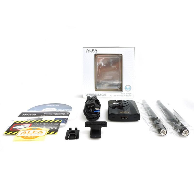 ▷ Alfa AWUS036ACH WIFI USB 3 0 dual-band
