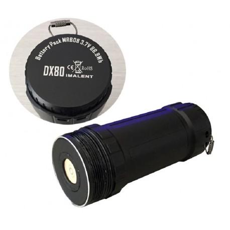 Batterie de remplacement pour IMALENT DX80 MRB08 3.7V 88.8 Wh