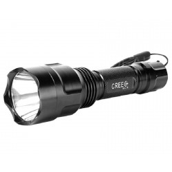 LED flashlight powerful and cheap UltraFire C8 Cree XM-L T6 1000 lumens.