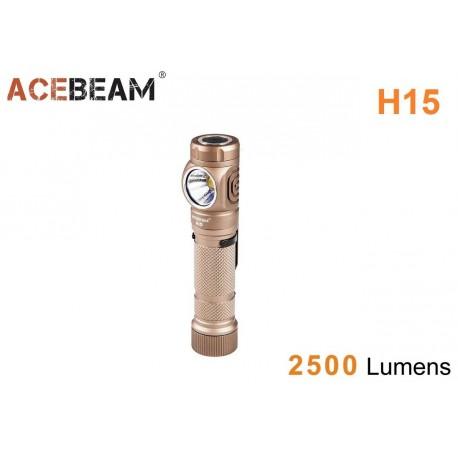 Lanterna Frontal potente Acebeam H15 2500 LM diodo EMISSOR de