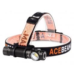 Stirnlampe mit leistungsstarker Acebeam H15 2500 LM 6500K LED