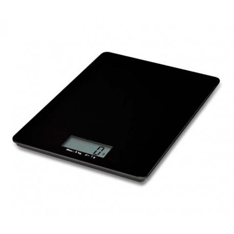 Bascula de cocina de cristal precision recetas dieta 5kg - Bascula de cocina barata ...