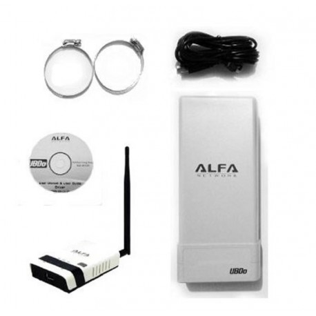 Pack WIFI USB antenna UBdo + Router Alfa R36
