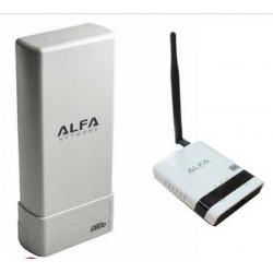 Pacote repetidor WIFI USB Antena UBdo + Roteador Alfa R36