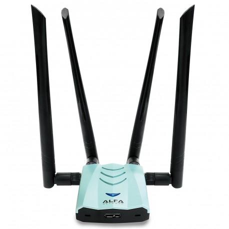 AWUS1900 Receptor de WIFI USB 3.0 AC1900 com 4 antenas 4T4R