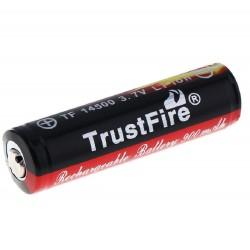 Batteria ricaricabile 14500 900mAh protetto PCB Li-Ion batterie TrustFire Fiamma
