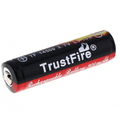 Batería recargable 14500 900mAh protegida PCB Li-Ion TrustFire
