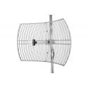 2,4 Ghz WIFI, antena de prato