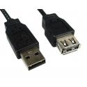 Cabo de extensão USB 2.0