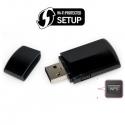 WIFI USB con pulsante WPS
