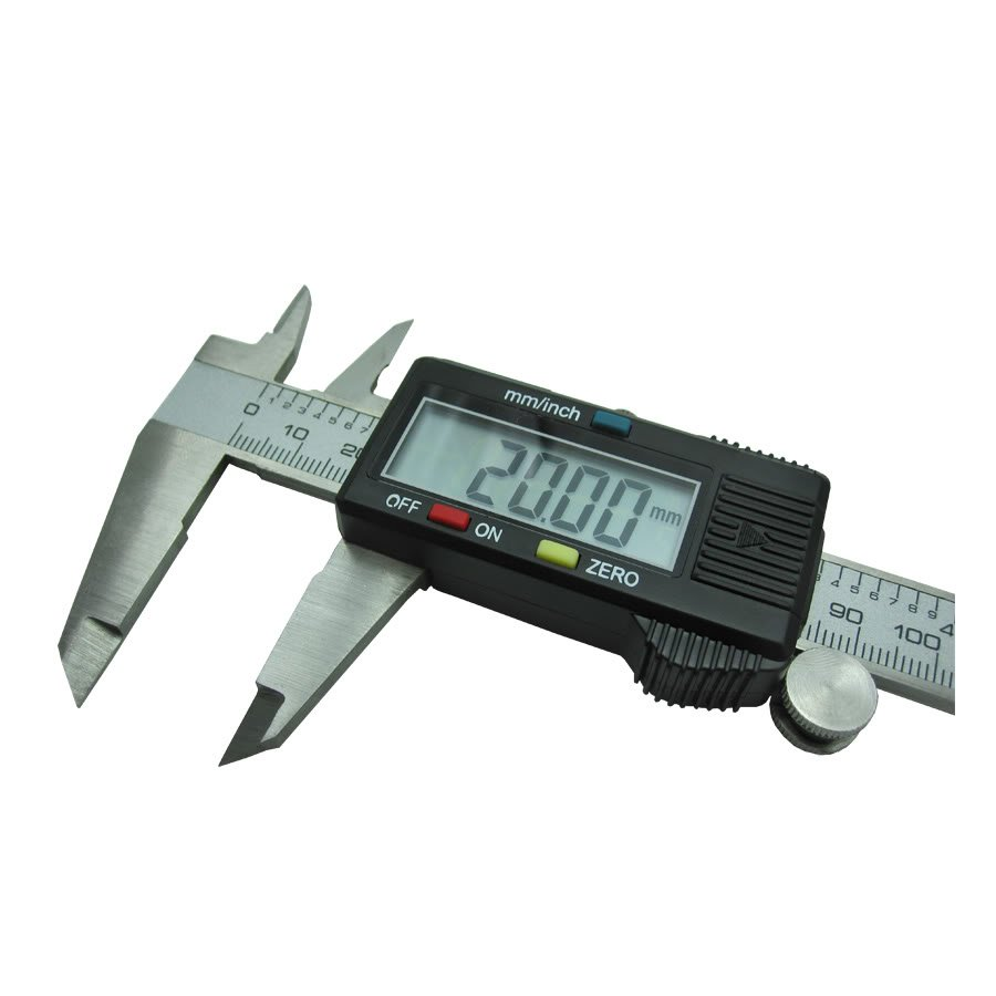 Calibre digital pie de rey acero inoxidable 0 01 150mm for Pilas de acero inoxidable