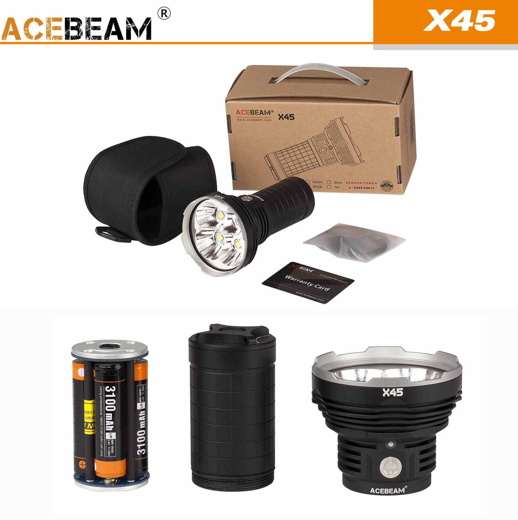 acebeam pack x45 luxury