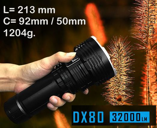 Imalent DX80 32000LM Rechargeable
