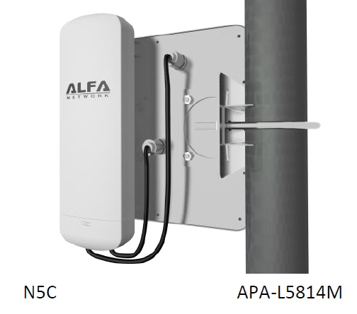 alpha directional apa mount