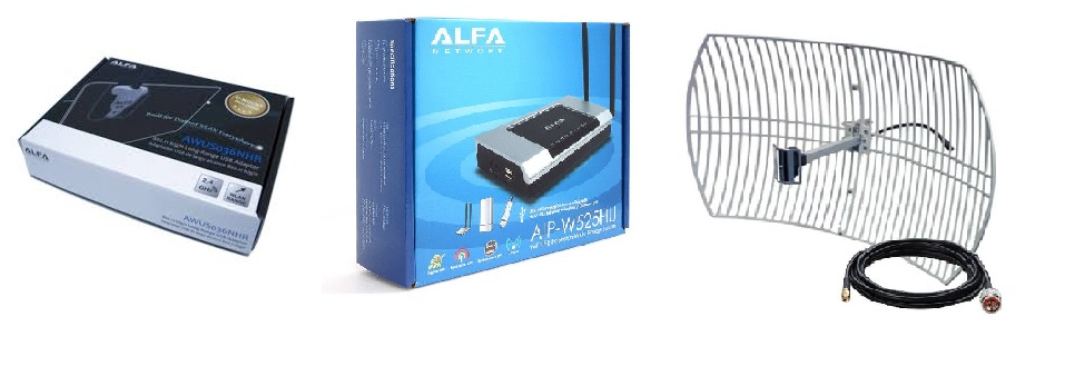 ▷ Mount a long-range home WiFi antenna with router >