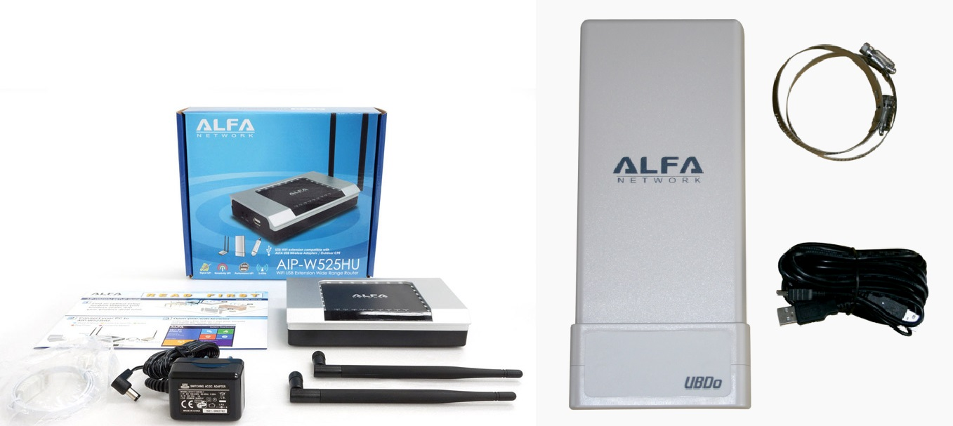 kit wifi alfa network camp pro
