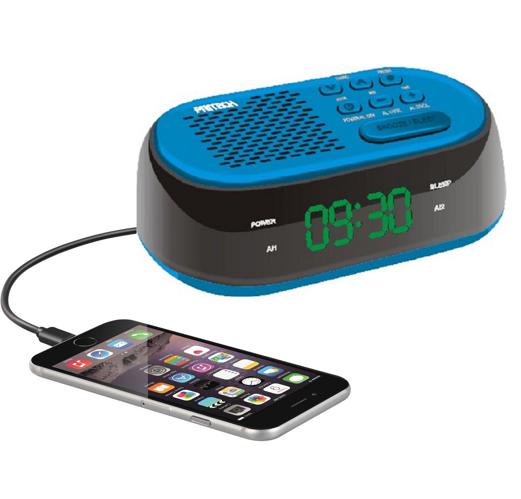radio reloj cargador usb despertador