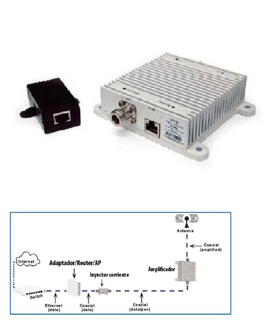 poe booster wifi amplificador alfa