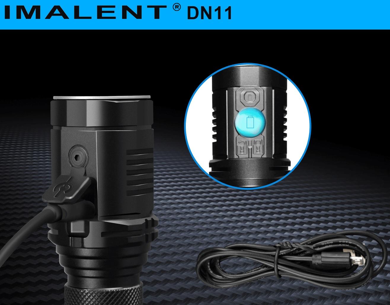 IMALENT DN11 LINTERNA LED CARGA USB