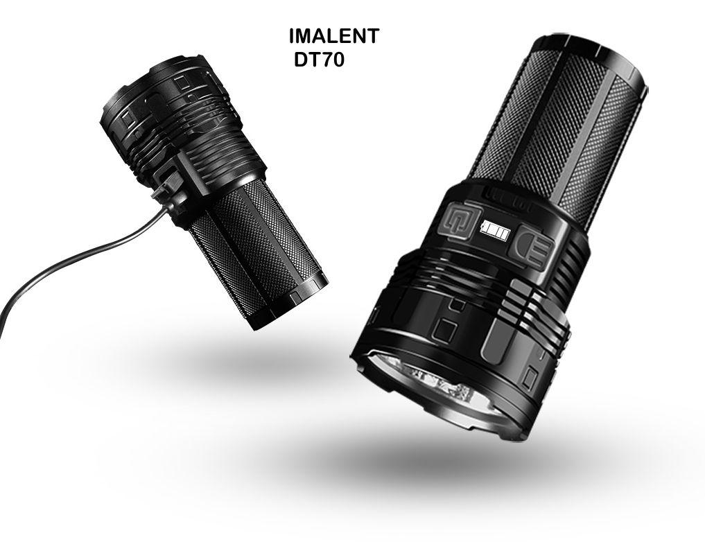 DT70 linterna recargable usb