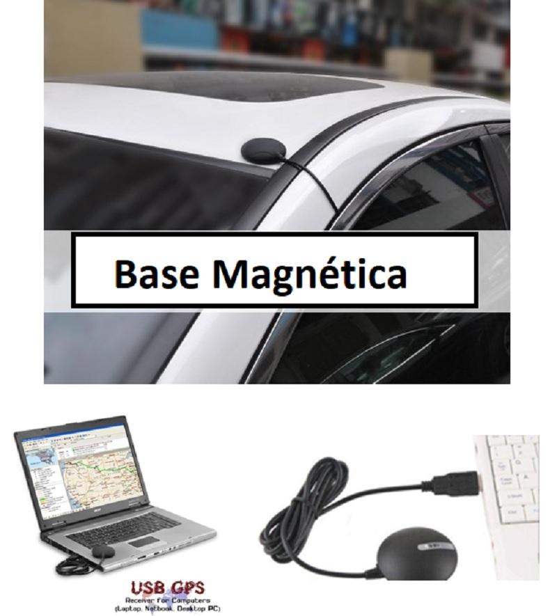 gps por USB con iman coche