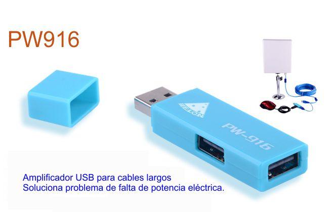 PW-916 melon cable USB amplificador solucion