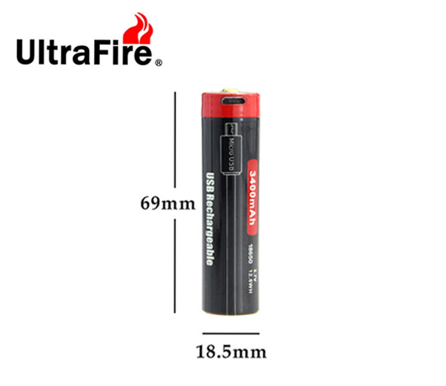ultrafire usb recargable