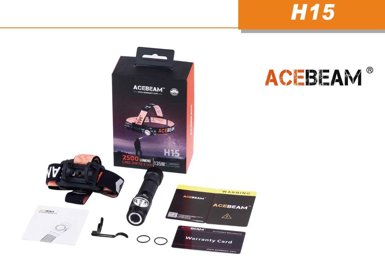 ACEBEAM H15 ESPAÑA