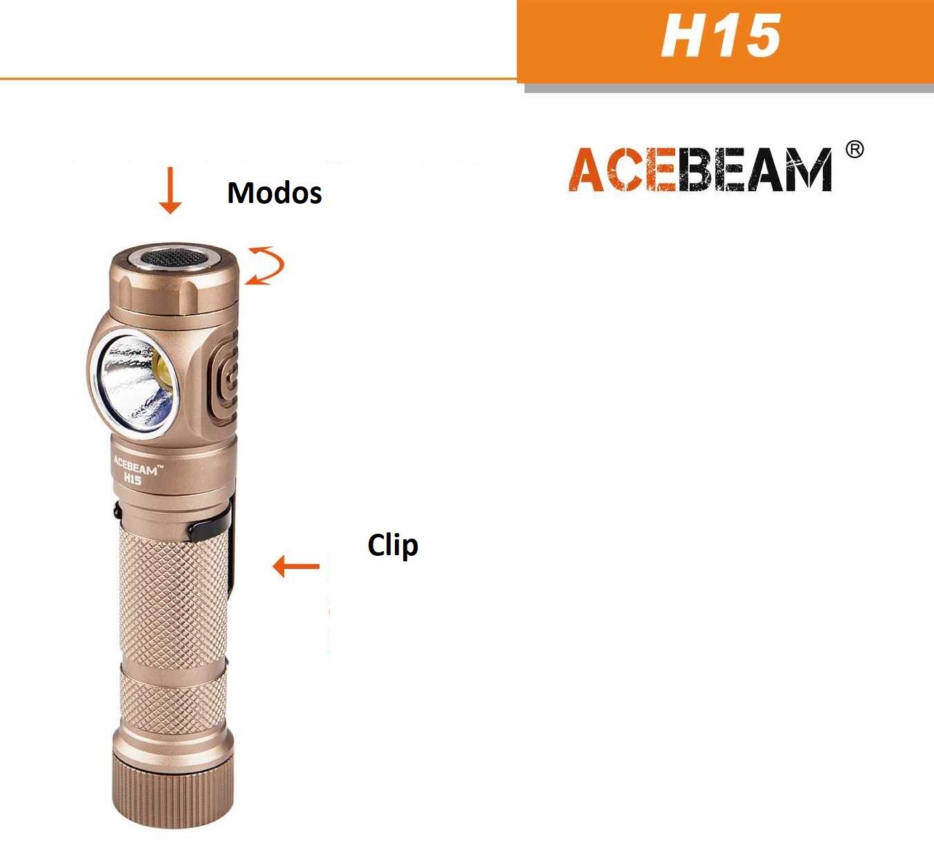 ACEBEAM H15 SANDY
