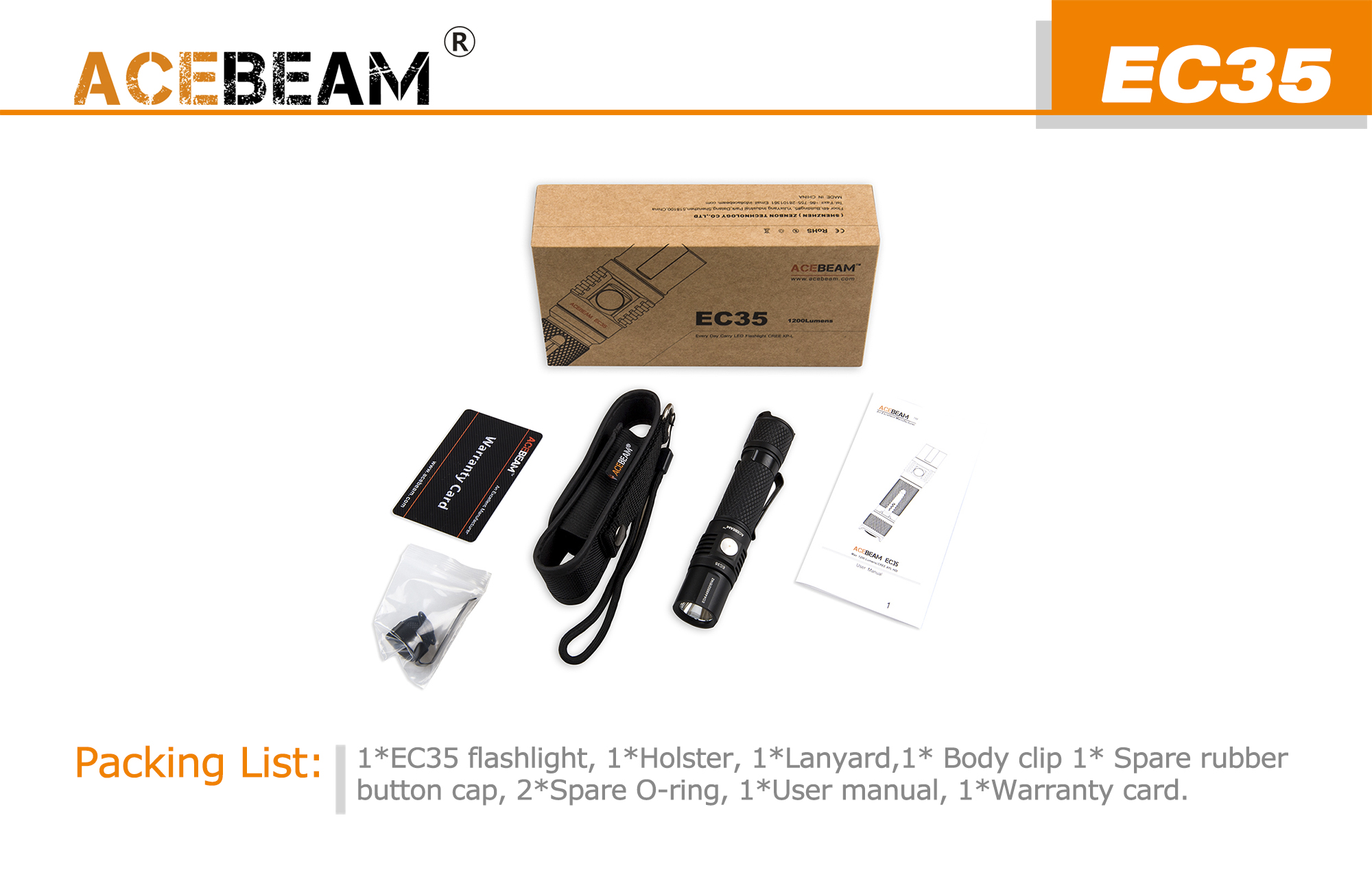 acebeam ec35 top pack
