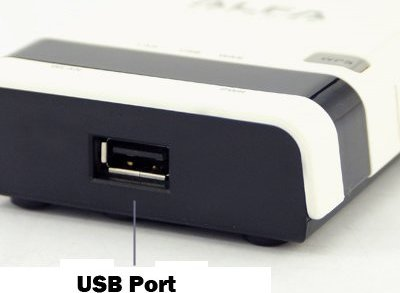 usb port router alfa r36