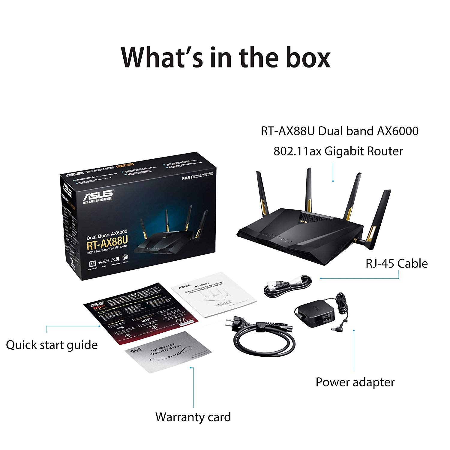 ASUS ROUTER WIFI 6 AX