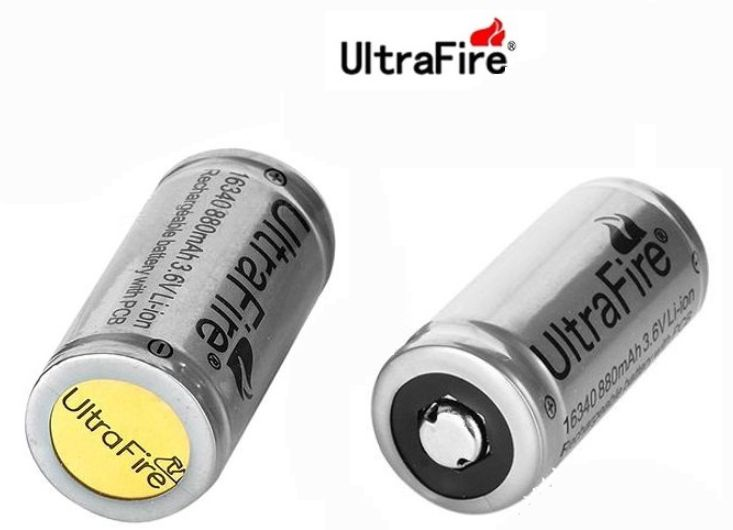 16340 CR 123A ULTRAFIRE LITIO