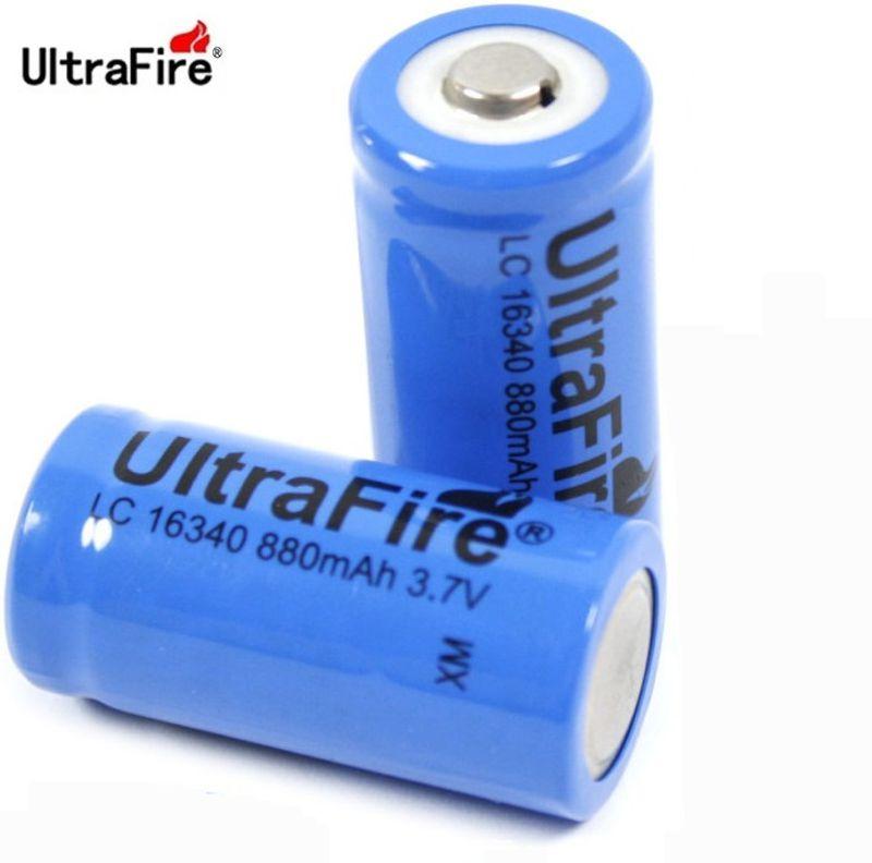 ULTRAFIRE 123A 880MAH