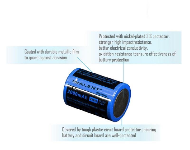 bateria imalent bg10