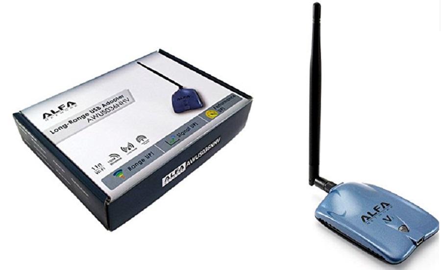 AMPLIFICADOR WIFI USB ALFA
