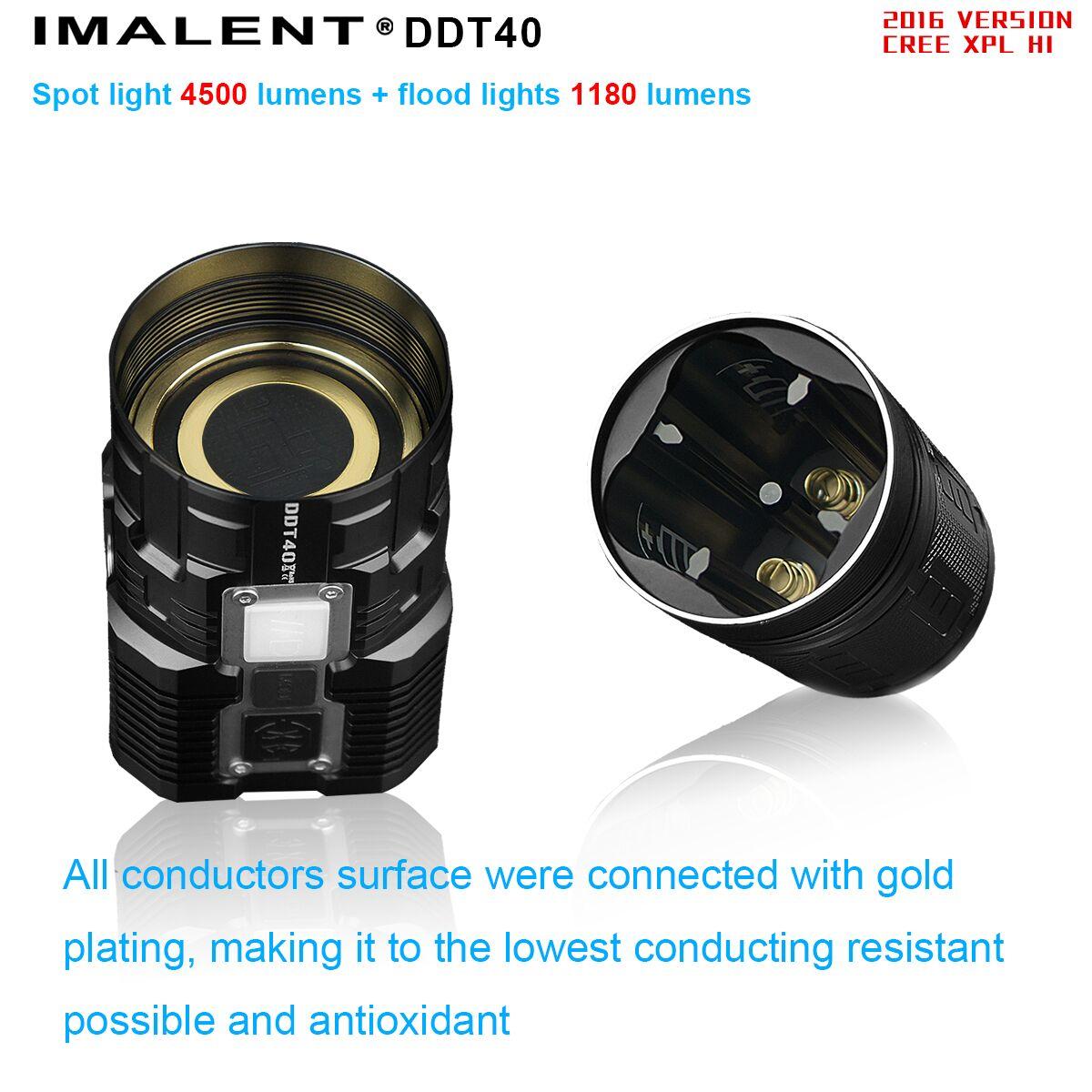 linterna DDT40 potente sumergible IPX8