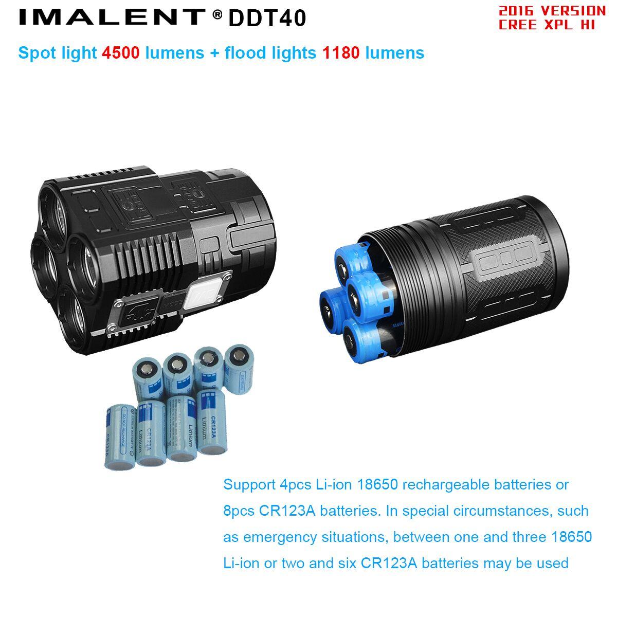 imalent DDT40 recargable con baterias