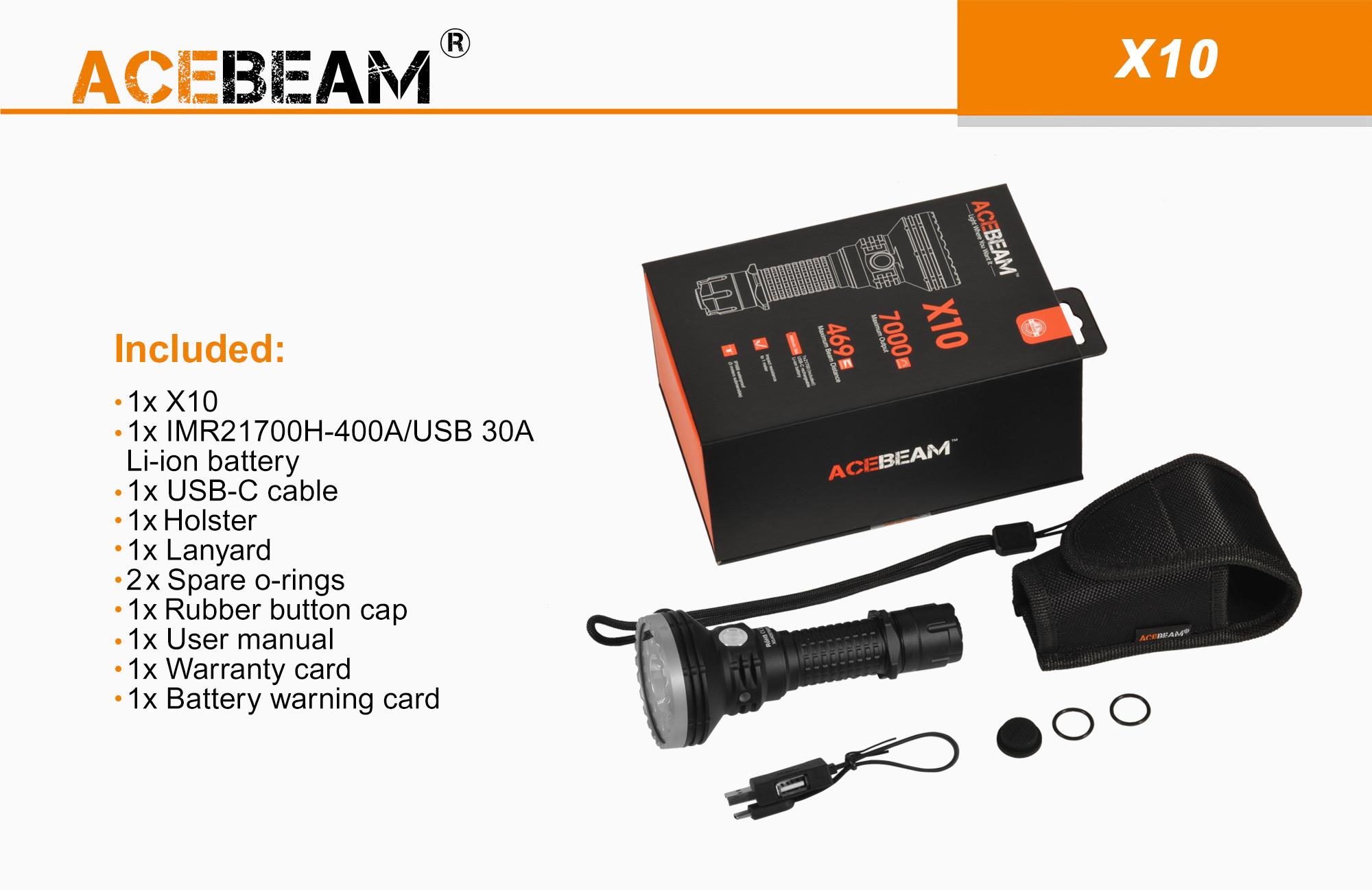 ACEBEAM-X10