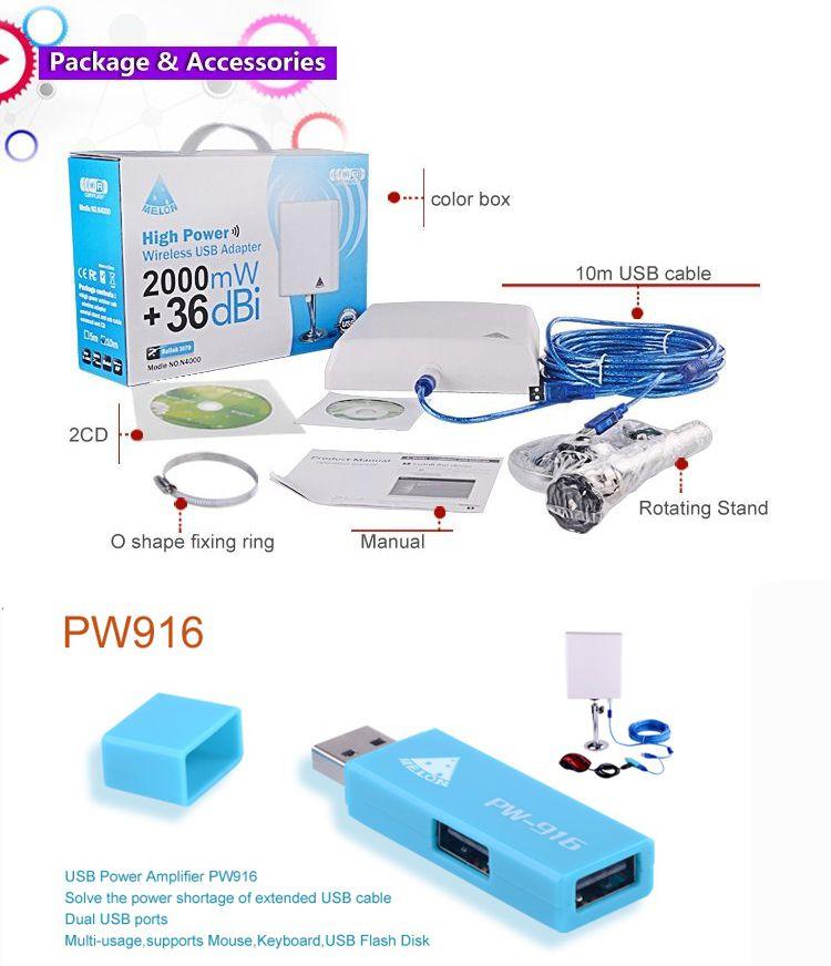 MELON N4000 WIFI 10 METROS