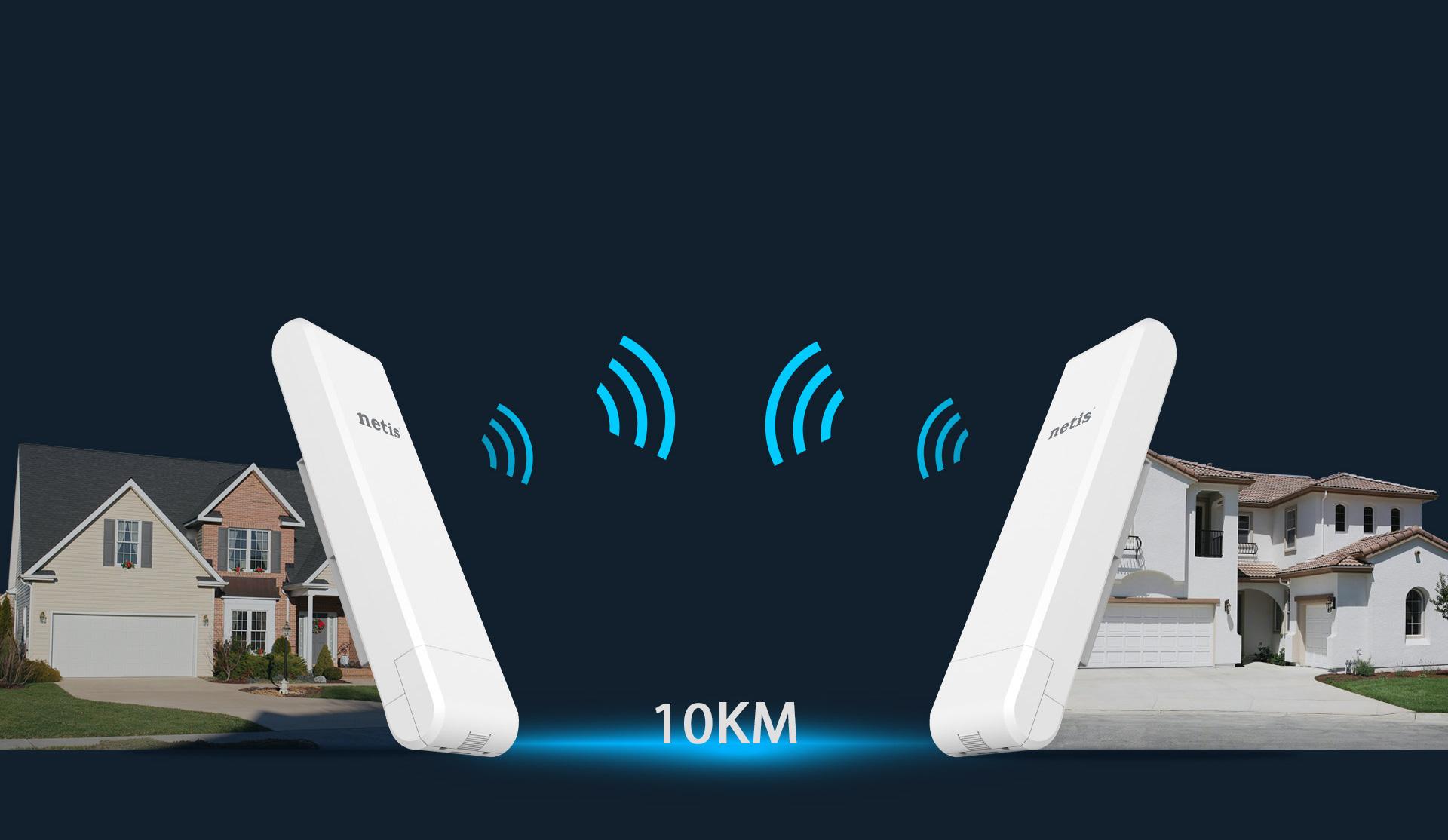 WF2375 antena wifi hasta 10km
