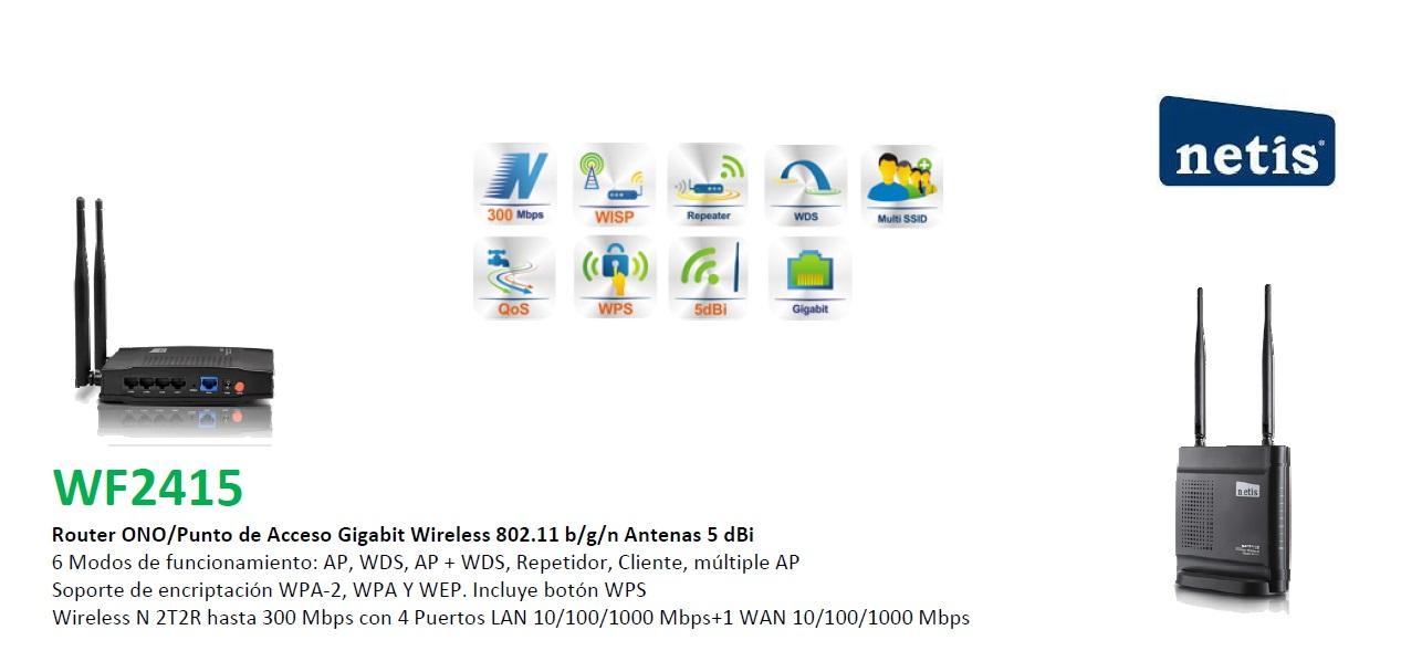 router gigabit netis