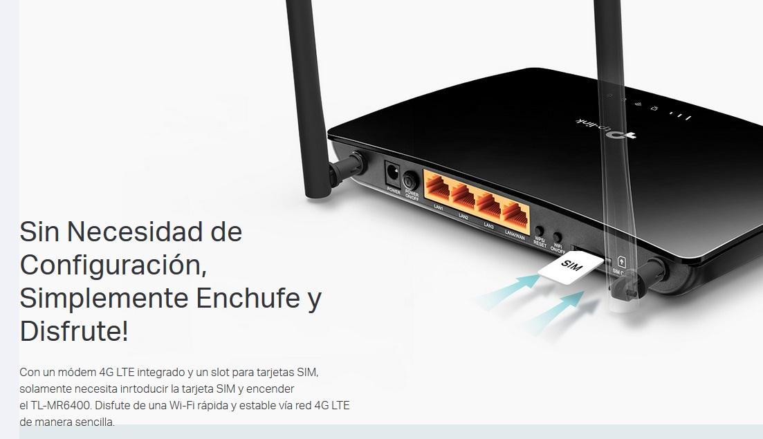Sim Karte Internet.Router 4g Lte Mit Sim Slot Wlan N Tp Link